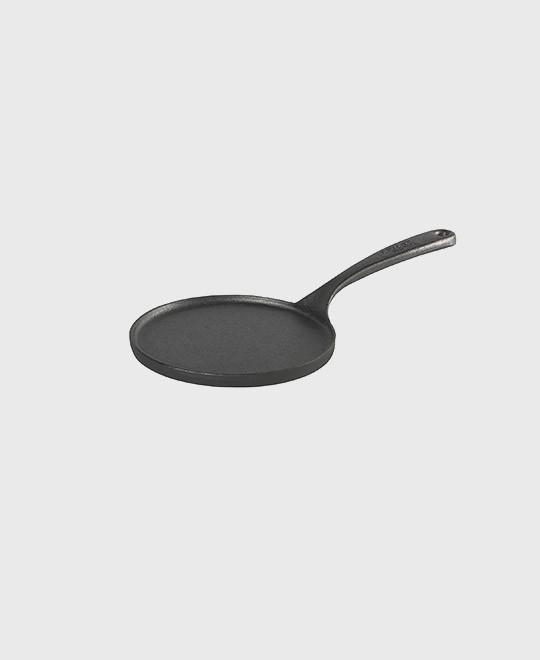 Crepe-panna 17 cm med gjutjärnshandtag