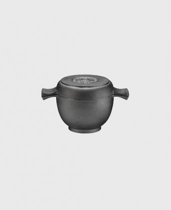 Minigryta 0,5 L med lock/stekpanna 12 cm