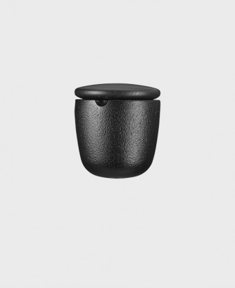 Salt bowl black