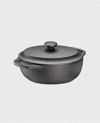 Casserole oval 2 L with cast iron lid
