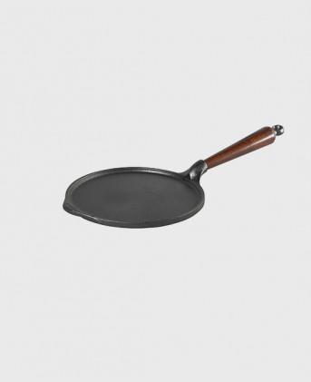 Pannkakspanna 23 cm med trähandtag